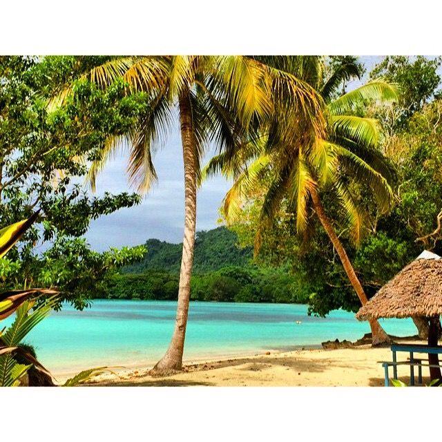 Vanuatu Beaches: Barrier Beach House, Santo, Vanuatu
