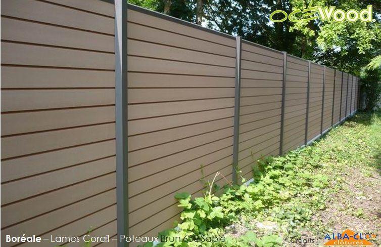 2ème partie de la clôture finie - Ma maison contemporaine par Lillou
