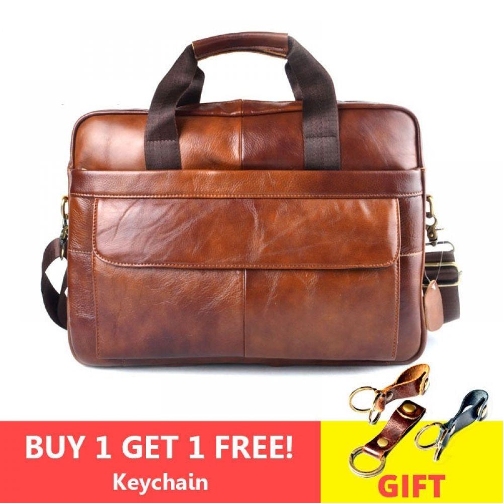 Aetoo Genuine Leather Genuine Leather Laptop Bag Handbags Cowhide Men Crossbody Bag Men S Travel Brown Leather Briefcase Leather Laptop Bag Leather Briefcase Men Leather Briefcase