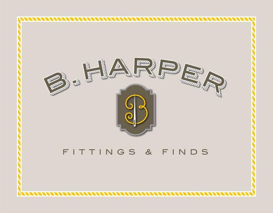 New logo for Bea Harper, by Alan Lidji