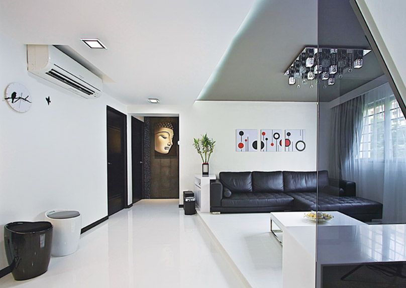 Image Result For Bright And Airy Design 4 Room Bto  My Qanvast Prepossessing Hdb 4 Room Living Room Design Review