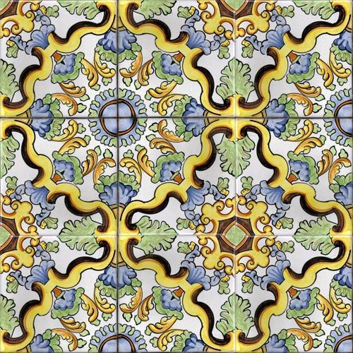 Ceramica Vietri Sul Mare Tiles Majolica Ceramic Pottery