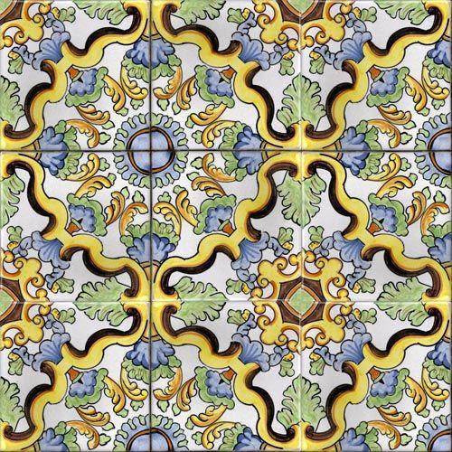 Ceramica Vietri Sul Mare  Tiles Majolica Ceramic Pottery  House