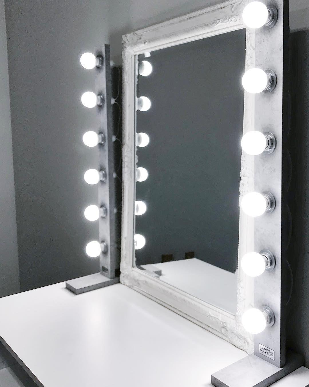 Makeup Valaistu Makeup Lampuilla Makeup Lamppu Ehostus Pallovalot Hollywood Mirror Light Makeup Top Beauty Products