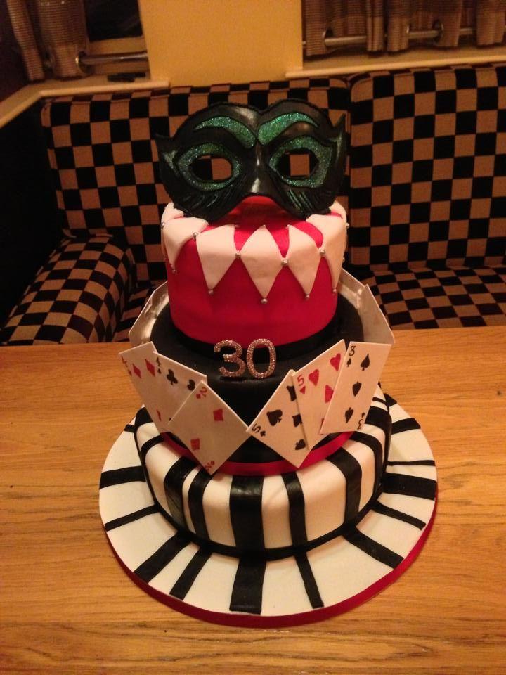 Masquerade Magic Birthday Cake Cakes Pinterest Masquerades