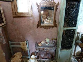 lotjesdollshouse: Chambre de Séraphine details
