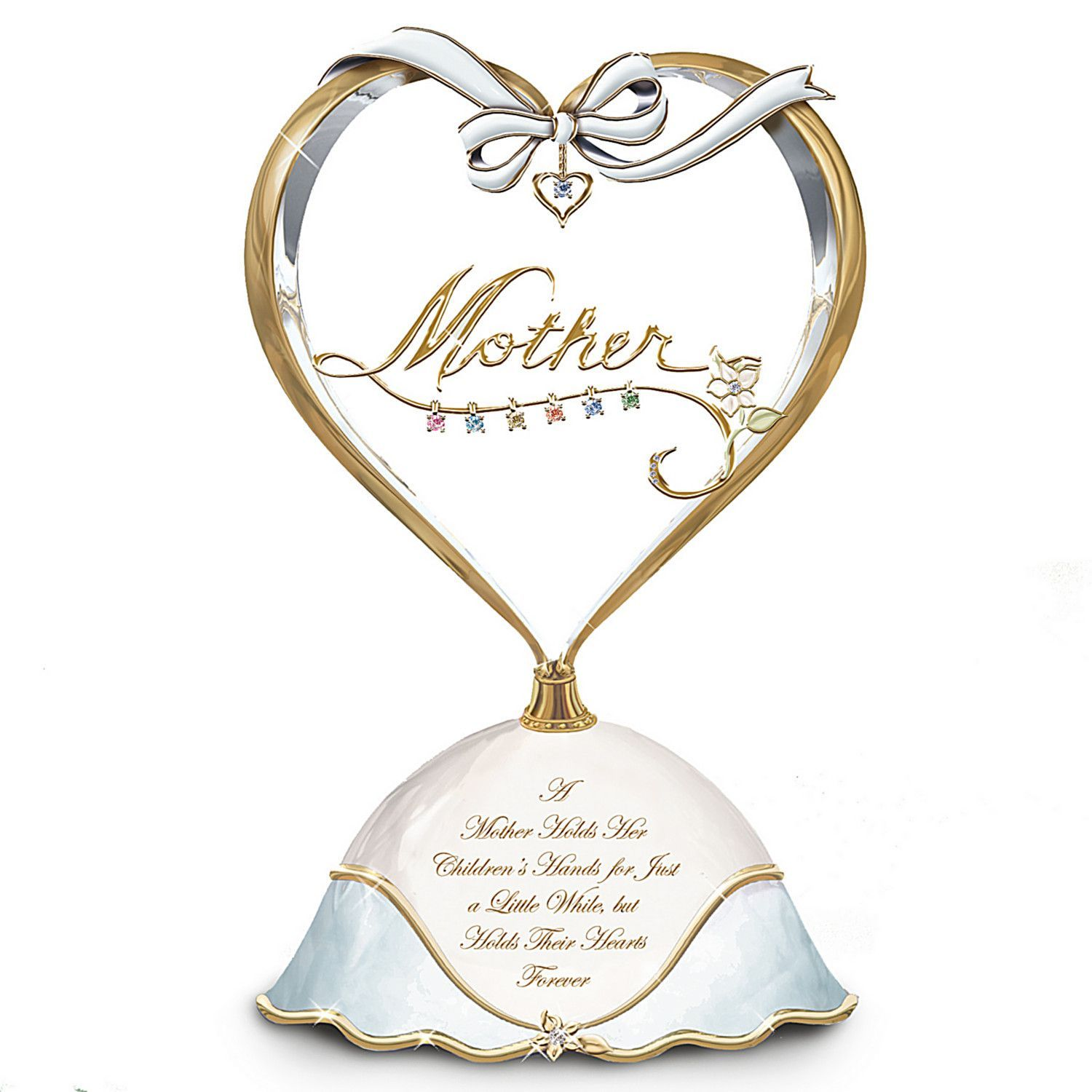 A Heart Full Of Love Collectible Birthstone Music Box
