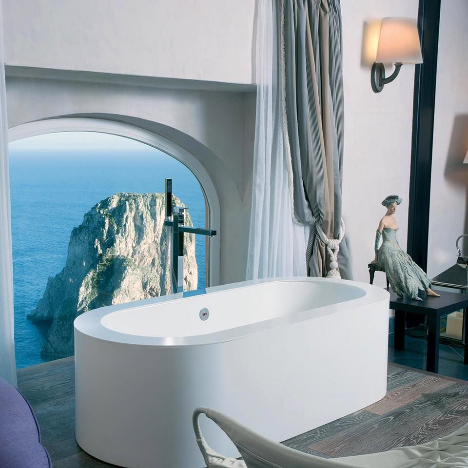 This Is The Most Beautiful Bathroom: When Your Hotel Is A Dream Come True: The Most Beautiful