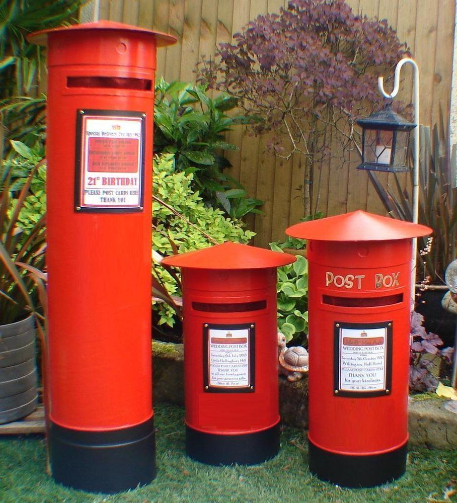 Post Box, Large Royal Mail Pillar box, Santa, Xmas