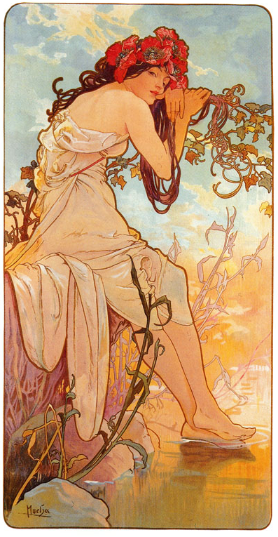 Mucha has to be one of my all time favorites