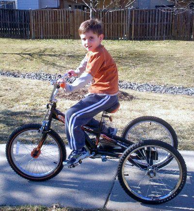 Adaptive Special Needs Bicycle Autism Spectrum Bicycle
