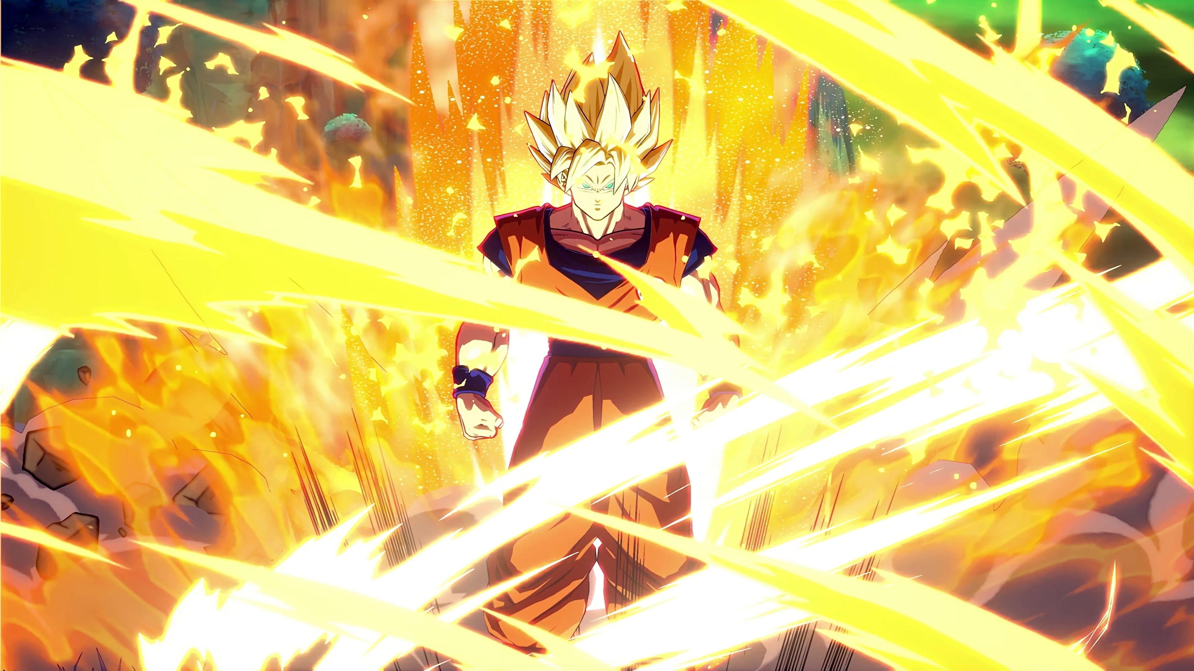 Ideas For Goku Super Saiyan 2 4k Wallpaper Pictures In 2020 Goku