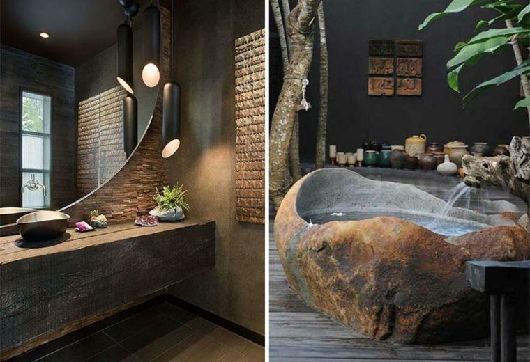 Lavabos rústicos ideas para cada tipo de baño Baño Pinterest - lavabos rusticos