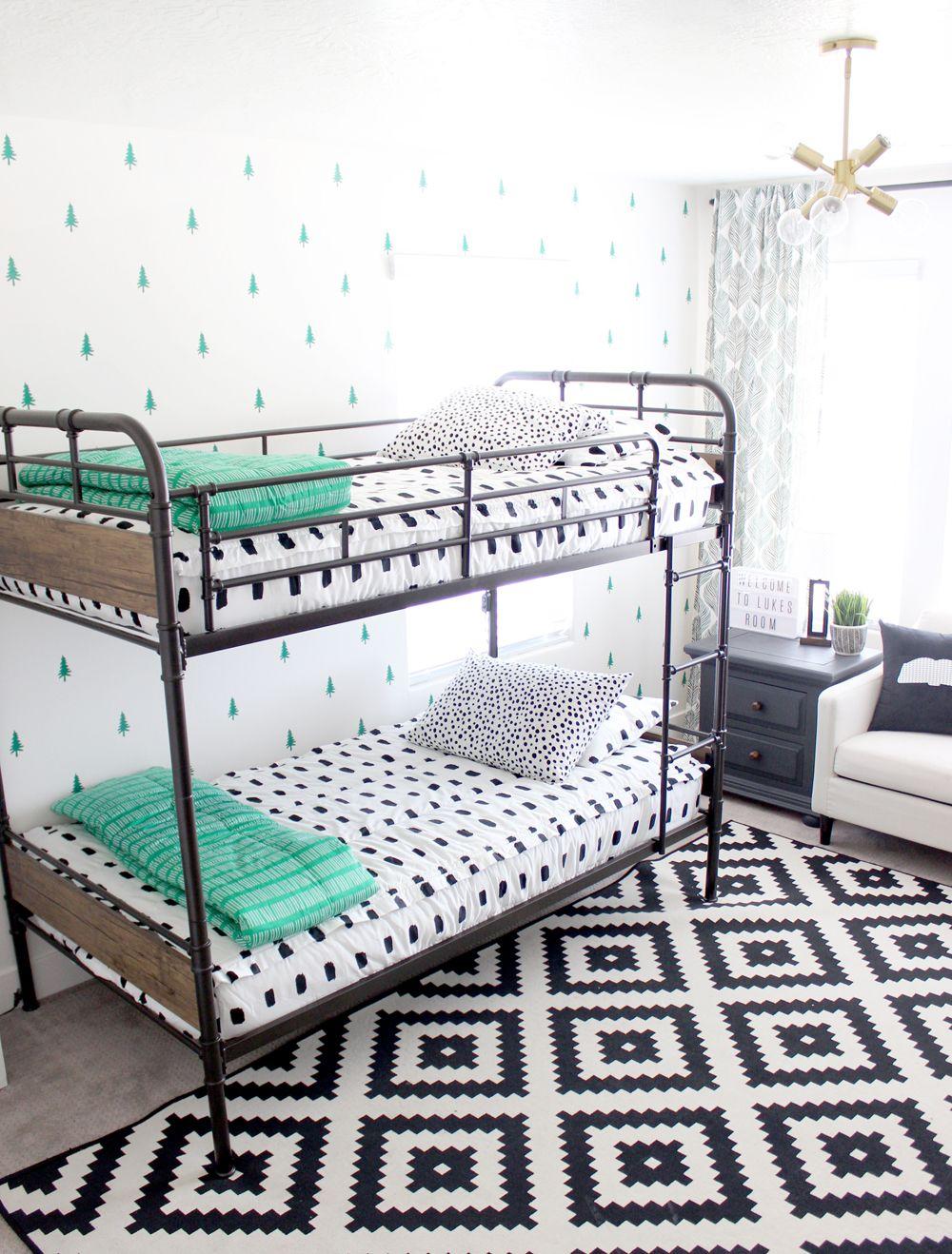 White Black And Green Modern Boys Bedroom Boys Bedroom Green Modern Boys Bedroom Red Boys Bedroom