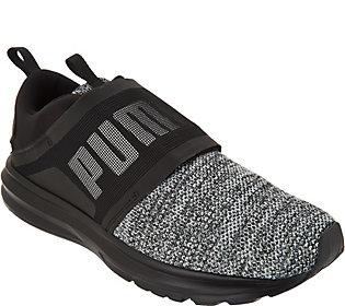 PUMA Knit Lace-up Sneakers - Enzo Strap Knit  046e0961b