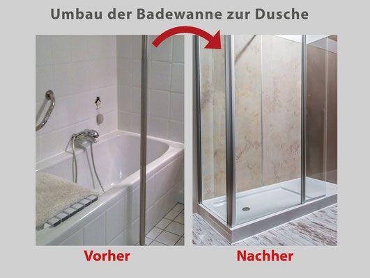 Pin von Badbarrierefrei Deutschland auf Umbau BadeWanne