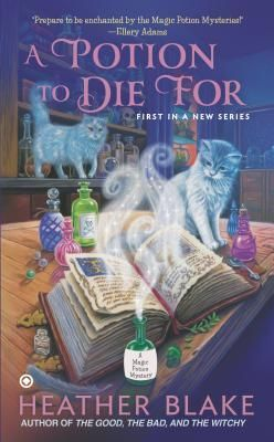 A Potion to Die For (Magic Potion Mystery #1)TROUBLE IS BREWING…  As the owner of Little Shop of Potions, a magic potion shop specializing in love potions, Carly Bell Hartwell finds her product more in demand than ever. A local soothsayer has predicted that a couple in town will soon divorce—and now it seems every married person in Hitching Post, Alabama, wants a little extra matrimonial magic to make sure they stay hi...more