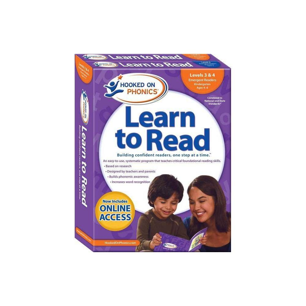 Hooked On Phonics Learn To Read Levels 3 4 Complete Learn To
