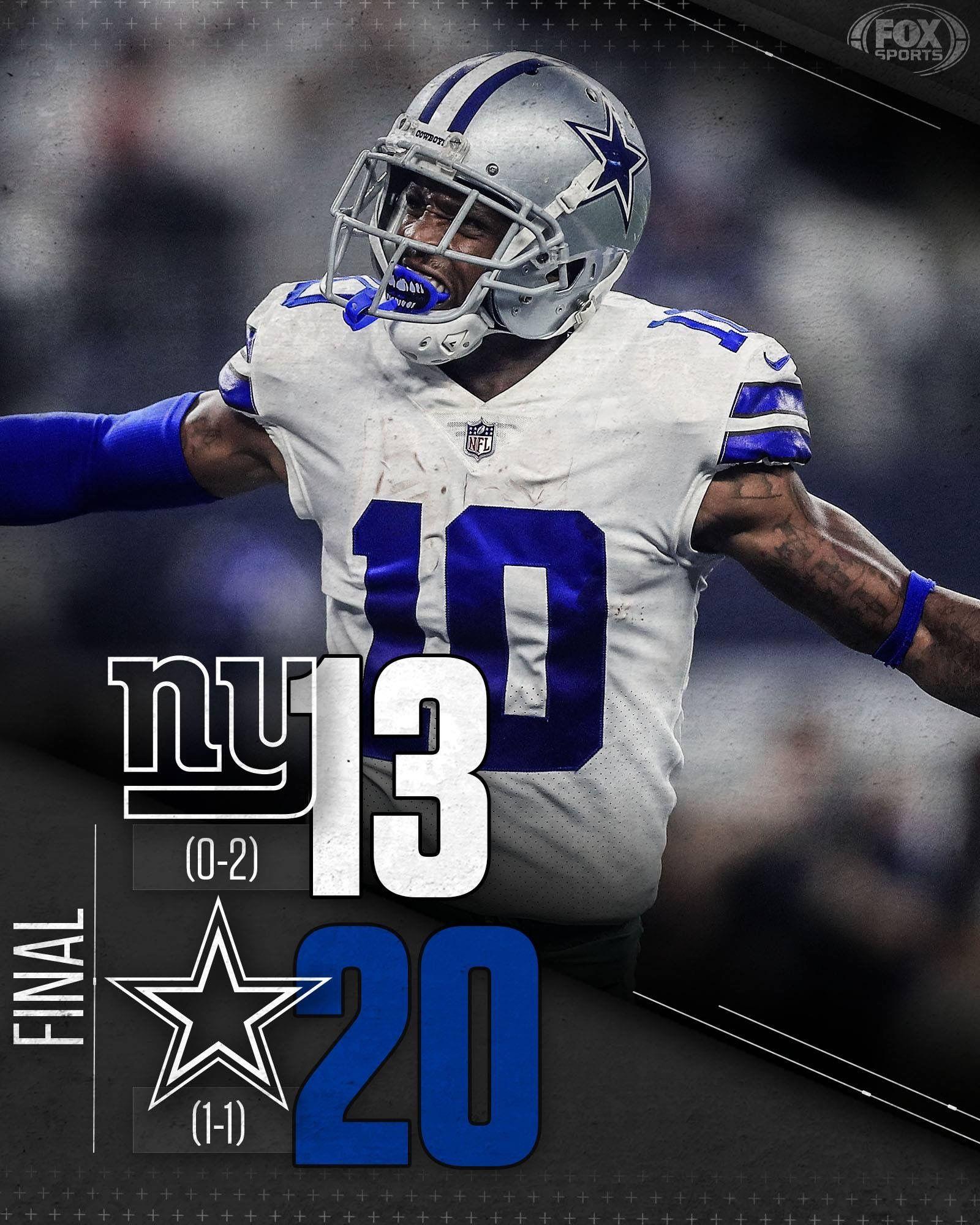 Dallas cowboys vs new york giants september 16 2018 2nd
