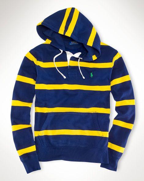 Striped Polo Ralph Fleece Ralphlauren Hoodie Sweatshirts Lauren H9eED2YIW