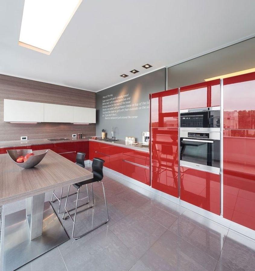 Cocina roja - Ideas para decorar tu hogar en Habitissimo Cocinas