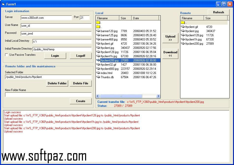 Download x360soft - Ftp Client ActiveX SDK setup at breakneck speeds ...