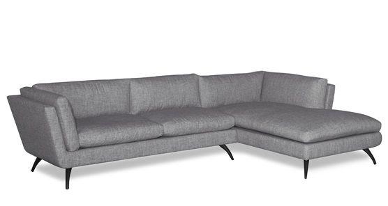 Lazar Lax Sofa W/ Chaise | Ambiente Modern Furniture
