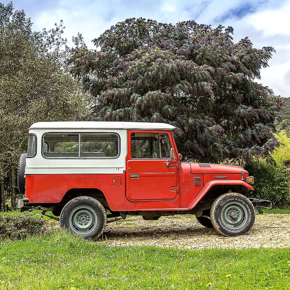 Explore 4x4 wheels toyota fj40 and more off road test before restoration 1982 toyota land cruiser
