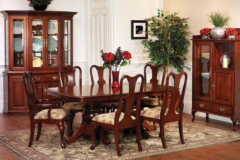 Queen Victoria Double Pedestal Dining Room Collection Usa
