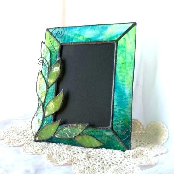 Stained Glass Picture Frame Stain Glass Frames Stained Glass Picture