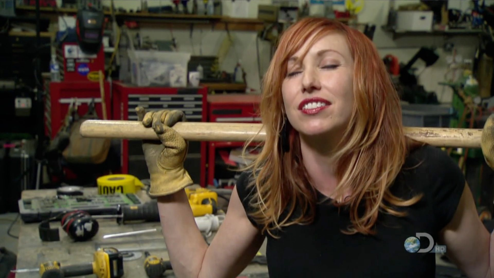 Hair style tori from mythbusters naked