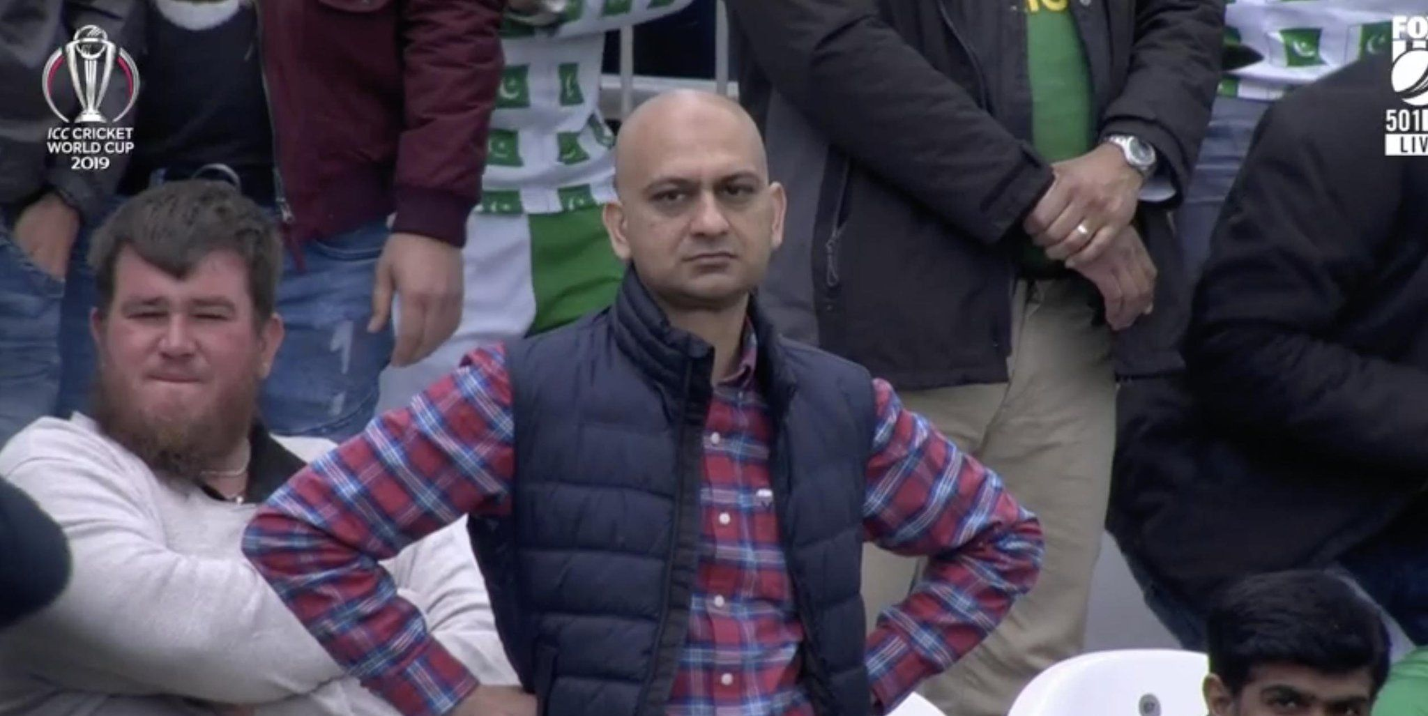 Frustrated fan of cricket Funny reaction pictures, Memes