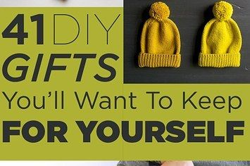 41 diy gifts youll want to keep for yourself gift crafty and 41 diy gifts youll want to keep for yourself solutioingenieria Choice Image