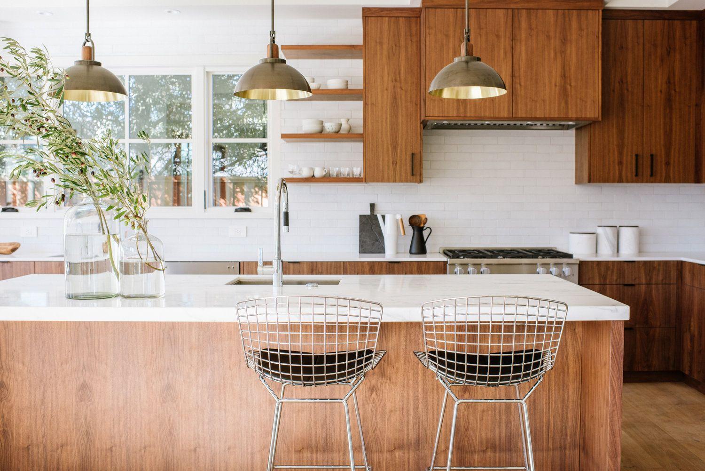 """Arc 20"""" in 2020   Kitchen cabinet design, Walnut kitchen ..."""