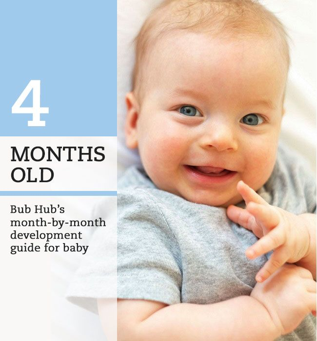 What Should My 4 Month Old Baby Be Doing 4 5 Month Milestones Bub Hub 4 Month Old Baby Baby Development 4 Month Milestones Baby
