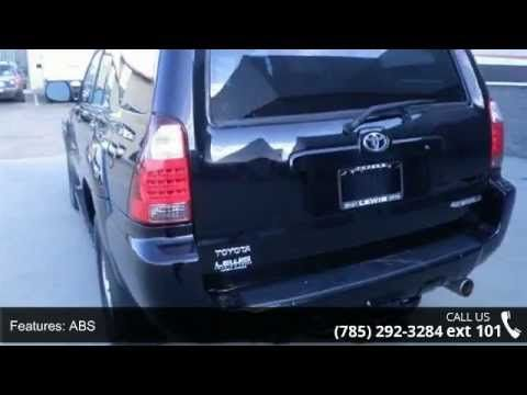 2008 Toyota 4runner Limited Lewis Toyota Topeka Ks 6 This