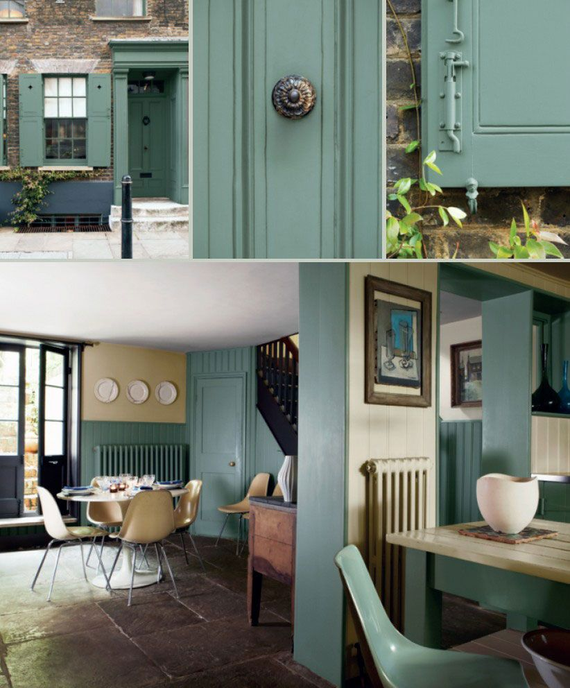 Cardroomgreen Colours Paints Pinterest Green Kitchen - Calke green farrow and ball