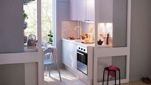 Wie können Sie schlau die kleine Küche einrichten \u2013 10 nützliche - kleine küchen ideen