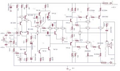 500watt power amplifier circuit hubby project pinterest rh pinterest com TV Circuit Schematics Electronic Circuit Schematic Diagrams