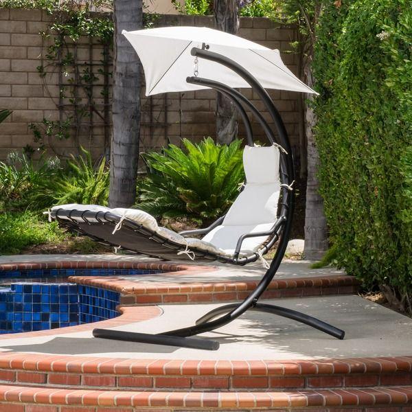 Christopher Knight Home La Vida Steel Hanging Chair
