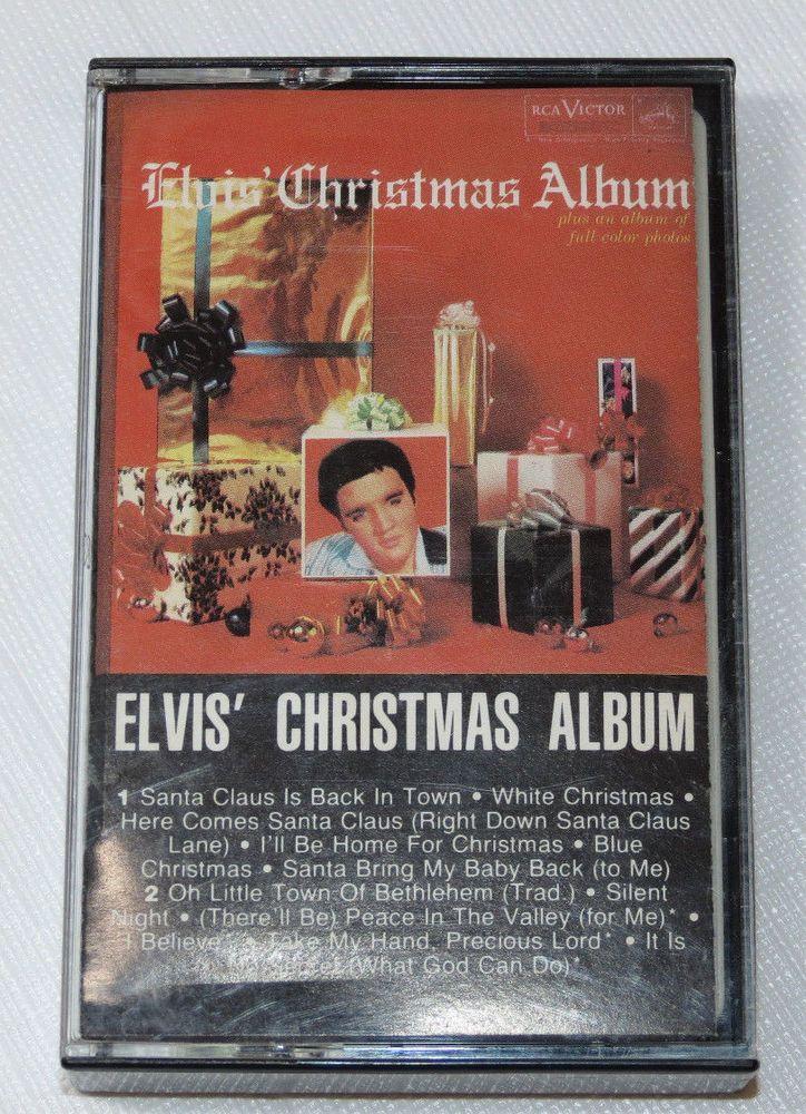 Elvis Presley Elvis Christmas Album.Elvis Presley Elvis Christmas Album Rca Afk1 5486 Blue