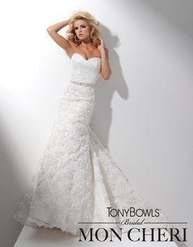 Tony Bowls For Mon Cheri Ivory Organza Taffeta T211283 Modern