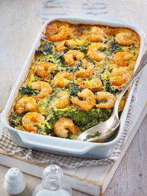 Photo of Spinach Shrimp Casserole Recipe DELICIOUS