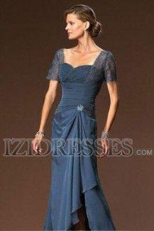 A-Line Princess Sweetheart Chiffon Mother Of The Bride Dress