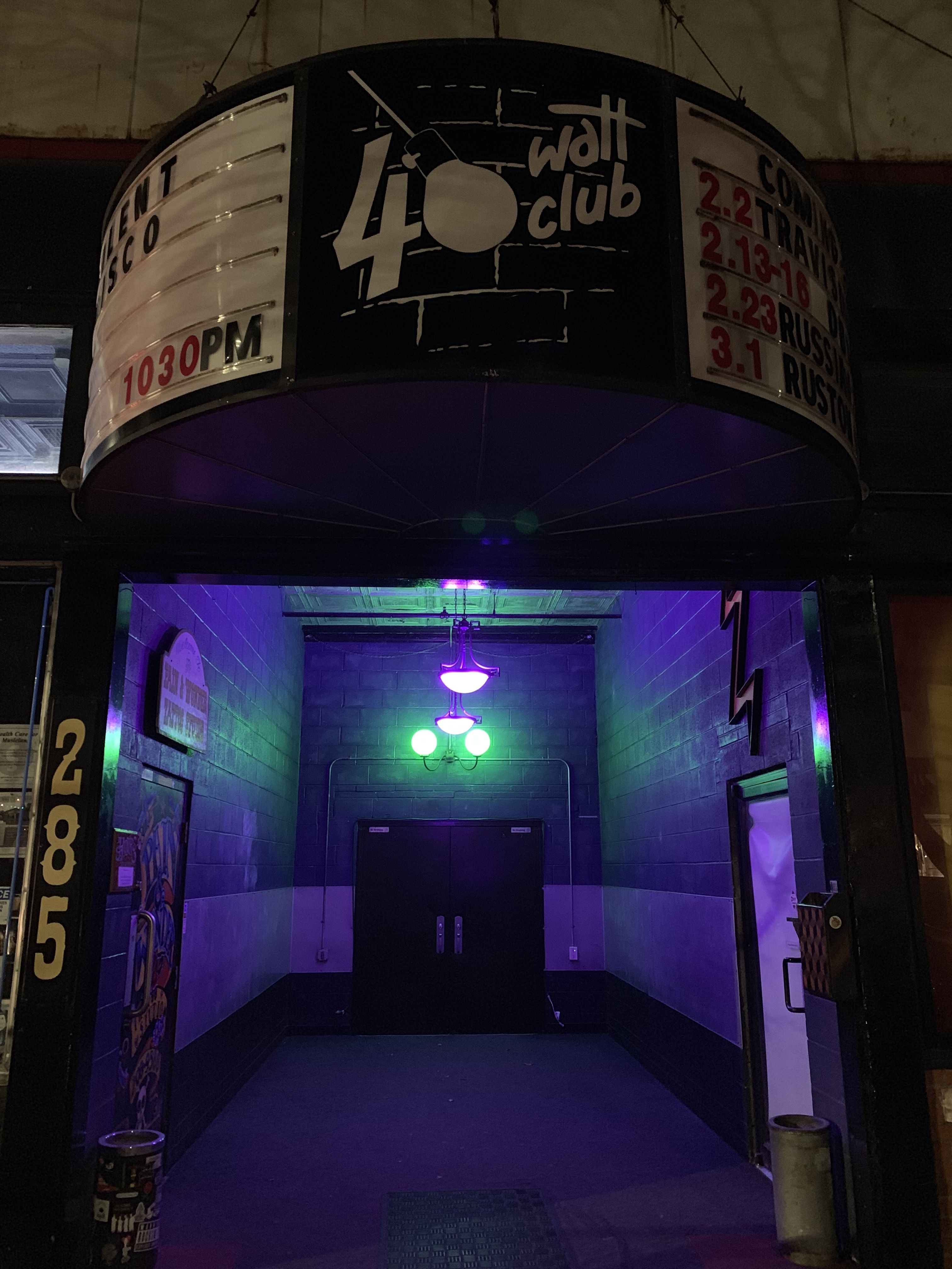 40 watt club athens ga