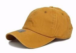 8c185a743333e Solid Plain Washed Mustard Yellow Baseball Cap Strapback Dad Hat Low Profile