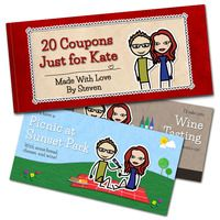 if you like the coupon book idea but you re more comfortable with