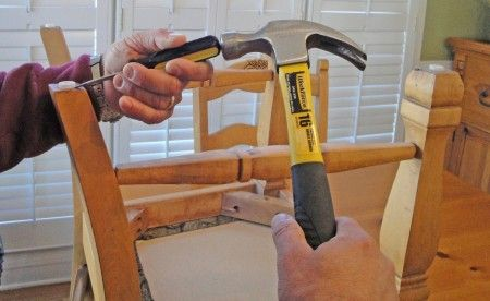 Protect Wood Floors From Scratches Replace The Chair Leg Pads