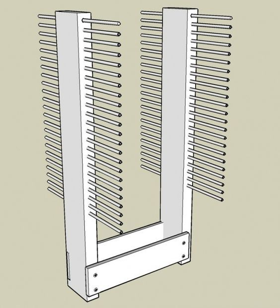 Cabinet Door Drying Rack Pleasing A Cabinet Door Drying Rack  Paint Talk  Professional Painting Design Inspiration