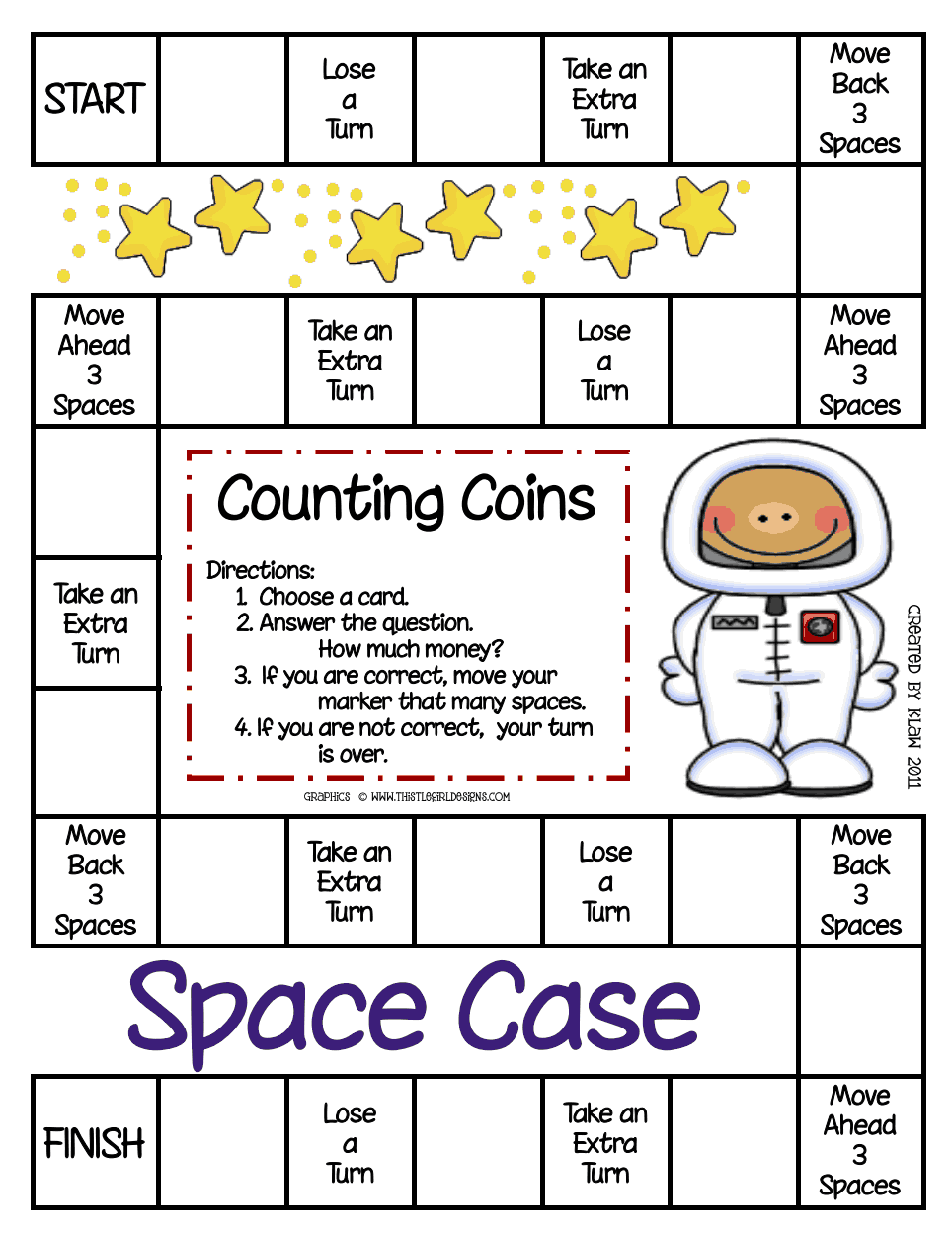 Space Case GameCounting Coins.pdf Google Drive Money